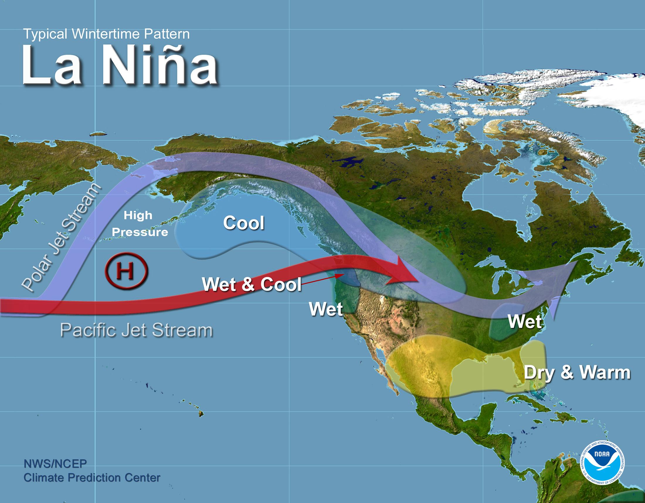 La Niña Watch Issued What This Could Mean For Winter - Us jet stream forecast map